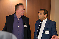 Paul Ritchie of Foremost Security (left) and Gurmail Raju of Ryley Wealth Management