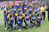 Club America Starting Eleven. Real Madrid defeated Club America 3-2 at Candlestick Park in San Francisco, California on August 4th, 2010.