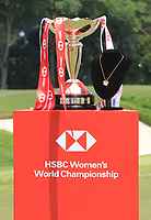 The winners trophy during Round 4 of the HSBC Womens Champions 2018 at Sentosa Golf Club on the Sunday 4th March 2018.<br /> Picture:  Thos Caffrey / www.golffile.ie<br /> <br /> All photo usage must carry mandatory copyright credit (&copy; Golffile | Thos Caffrey)