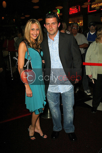"""Ashley Jensen and Joey Cappucino<br /> at the premiere of Skyway Studios """"The Third Wish"""" in conjunction with the Make-A-Wish Foundation, Brenden Theaters, Palms Casino and Resort, Las Vagas, NV 04-22-05<br /> <br /> David Edwards/DailyCeleb.com 818-249-4998"""