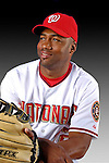 25 February 2007: Washington Nationals infielder Jorge Toca poses for his Photo Day portrait at Space Coast Stadium in Viera, Florida.<br /> <br /> Mandatory Photo Credit: Ed Wolfstein Photo<br /> <br /> Note: This image is available in a RAW (NEF) File Format - contact Photographer.
