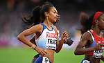 Adelle TRACEY (GBR) in the womens 800m semi-final in the womens 800m semi-final. IAAF world athletics championships. London Olympic stadium. Queen Elizabeth Olympic park. Stratford. London. UK. 11/08/2017. ~ MANDATORY CREDIT Garry Bowden/SIPPA - NO UNAUTHORISED USE - +44 7837 394578