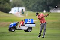 Johan Edfors (SWE) during the second round of the Shot Clock Masters, played at Diamond Country Club, Atzenbrugg, Vienna, Austria. 08/06/2018<br /> Picture: Golffile | Phil Inglis<br /> <br /> All photo usage must carry mandatory copyright credit (&copy; Golffile | Phil Inglis)