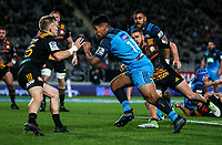 Rieko Ioane of the Blues during the Super Rugby Match between the Blues and the Chiefs at Eden Park in Auckland, New Zealand on Friday, 26 May 2017. Photo: Simon Watts / www.lintottphoto.co.nz