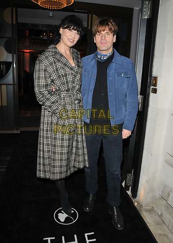 LONDON, ENGLAND - NOVEMBER 26: Daisy Lowe and Jack Penate at the Biltmore Hotel launch party, The Biltmore, Grosvenor Square on Tuesday 26 November 2019 in London, England, UK. <br /> CAP/CAN<br /> ©CAN/Capital Pictures