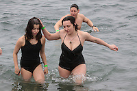2nd annual Special Olympics Polar Bear Plunge, Alki Beach, Seattle, January 24, 2010. Photography by Meryl Schenker