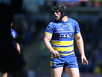 Warrington Wolves' Chris Hill <br /> <br /> Photographer Stephen White/CameraSport<br /> <br /> Rugby League - Coral Challenge Cup Sixth Round - Warrington Wolves v Wigan Warriors - Sunday 12th May 2019 - Halliwell Jones Stadium - Warrington<br /> <br /> World Copyright © 2019 CameraSport. All rights reserved. 43 Linden Ave. Countesthorpe. Leicester. England. LE8 5PG - Tel: +44 (0) 116 277 4147 - admin@camerasport.com - www.camerasport.com