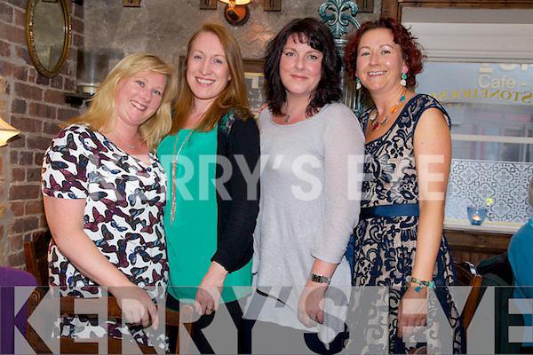 Ladies Night Out. at the Stonehouse on Saturday for  Angela O'Shea, Maura O'Connor, Nora O'Halloran, Lenora Burke
