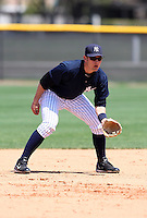 March 26, 2010:  Infielder Bradley Suttle of the New York Yankees organization during Spring Training at the Yankees Minor League Complex in Tampa, FL.  Photo By Mike Janes/Four Seam Images