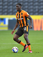 Hull City's Josh Emmanuel<br /> <br /> Photographer Dave Howarth/CameraSport<br /> <br /> The EFL Sky Bet League One - Hull City v Crewe Alexandra - Saturday 19th September 2020 - KCOM Stadium - Kingston upon Hull<br /> <br /> World Copyright © 2020 CameraSport. All rights reserved. 43 Linden Ave. Countesthorpe. Leicester. England. LE8 5PG - Tel: +44 (0) 116 277 4147 - admin@camerasport.com - www.camerasport.com