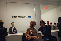 Art Basel festivities at Bass Museum of Art, Collins Park, South Beach, Florida, USA, Nov. 30, 2011. Photo by Debi Pittman Wilkey