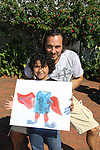 All My Children Thorsten Kaye at SoapFest Celebrity Weekend - Art for Autism when the actors & kids make paintings for auction to benefit Autism on November 10, 2012 Marco Island, Florida. For info www.autism-society.org or www.autismspeaks.org. (Photo by Sue Coflin/Max Photos)