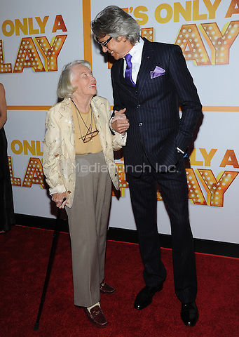 "New York,NY-October 9: Mary Elizabeth"" Liz "" Smith, Tommy Tune  attends 'It's Only A Play' Broadway OpeningNight - Arrivals And Curtain Call at Gerald Schoenfeld Theatre in New York City on October 9, 2014. Credit: John Palmer/MediaPunch"