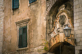 MONTENEGRO, Bay of Kotor, Old Arch in Old Town Kotor, Ben M Thomas