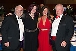 St Johnstone FC Scottish Cup Celebration Dinner at Perth Concert Hall...01.02.15<br /> From left, James Irvine, Christine Irvine, Sahron Irvine, and Douglas Irvine.<br /> Picture by Graeme Hart.<br /> Copyright Perthshire Picture Agency<br /> Tel: 01738 623350  Mobile: 07990 594431