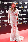 Actress Manuela Velles attends Goya Cinema Awards 2014 red carpet at Centro de Congresos Principe Felipe on February 9, 2014 in Madrid, Spain. (ALTERPHOTOS/Victor Blanco)
