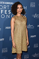 Gugu Mbatha-Raw<br /> arriving for the Newport Beach Film Festival UK Honours 2020, London.<br /> <br /> ©Ash Knotek  D3551 29/01/2020