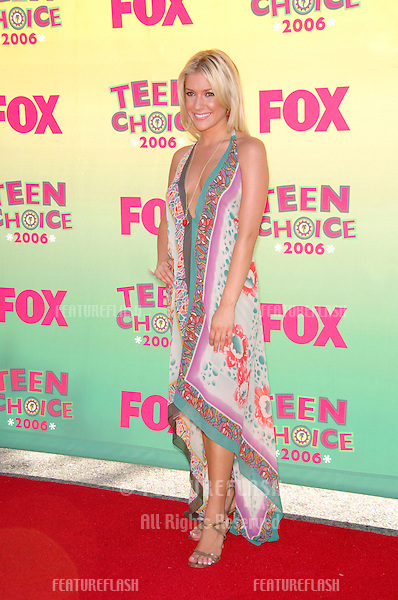 Actress KRISTIN CAVALLARI at the 2006 Teen Choice Awards at Universal City, Hollywood.20AUG2006  Los Angeles, CA.© 2006 Paul Smith / Featureflash