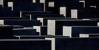24 AUG 2009 - BERLIN, GER - Holocaust Memorial, Berlin (PHOTO (C) NIGEL FARROW)