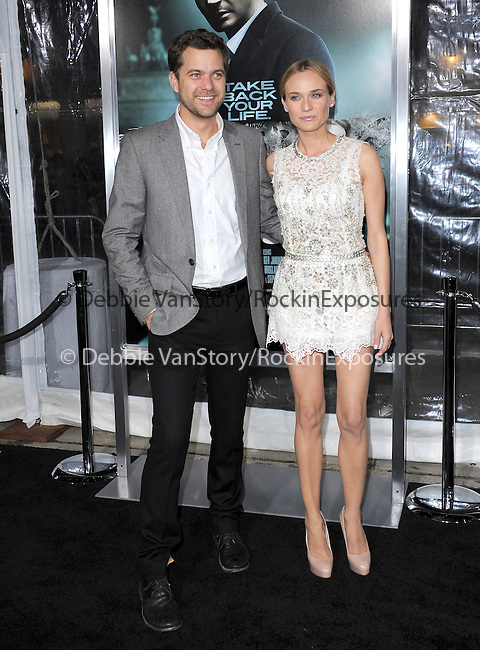 Diane Kruger and Joshua Jackson attends The Warner Bros. Pictures Premiere of Unknown held at The Regency Village Theatre in Westwood, California on February 16,2011                                                                               © 2010 DVS / Hollywood Press Agency