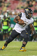 Tampa, FL - September 2, 2016: Towson Tigers running back Darius Victor (7) in action during game between Towson and USF at the Raymond James Stadium in Tampa, FL. September 2, 2016.  (Photo by Elliott Brown/Media Images International)