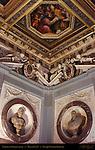 Corner Detail Hall of Leo X Palazzo Vecchio Florence