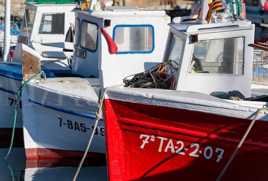 Fishing boats, Palamos, Spain
