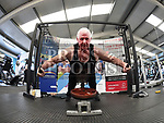 Liam O'Keefe who performed 3019 reps in less than an hour in Integral Gym to raise funds for Hannah The Princess Warrior. Photo:Colin Bell/pressphotos.ie