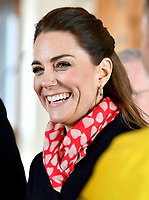 04/02/2020 - Kate Middleton, Duchess of Cambridge during a visit to the RNLI Mumbles Lifeboat Station, near Swansea in south Wales. Photo Credit: ALPR/AdMedia