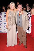 LONDON, UK. October 31, 2016: Gaby Roslin &amp; John Thompson at the Pride of Britain Awards 2016 at the Grosvenor House Hotel, London.<br /> Picture: Steve Vas/Featureflash/SilverHub 0208 004 5359/ 07711 972644 Editors@silverhubmedia.com