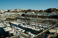 Puerto Rico harbour, Gran Canaria, Canary Islands.