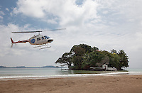 Taprobane Island is located on Sri Lanka's exotic south coast; by helicopter the journey from the capital Colombo takes less than one hour