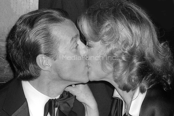 Halston and Lauren Bacall 1978<br /> Photo By Adam Scull/PHOTOlink/MediaPunch