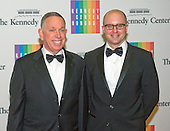 Michael Kaiser and John Roberts arrive for the formal Artist's Dinner honoring the recipients of the 2013 Kennedy Center Honors hosted by United States Secretary of State John F. Kerry at the U.S. Department of State in Washington, D.C. on Saturday, December 7, 2013. The 2013 honorees are: opera singer Martina Arroyo; pianist,  keyboardist, bandleader and composer Herbie Hancock; pianist, singer and songwriter Billy Joel; actress Shirley MacLaine; and musician and songwriter Carlos Santana.<br /> Credit: Ron Sachs / CNP