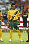 17 July 2004: Carlos Ruiz. Los Angeles Galaxy tied DC United 1-1 at RFK Stadium in Washington, DC during a regular season Major League Soccer game..