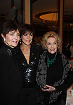 "Linda Dano and Eileen Fulton come to seeAs The World Turns Colleen Zenk as she stars in her one-woman cabaret show ""Colleen Zenk - Still Sassy"" on October 30, 2011 at Feinstein's at Loews Regency, New York City, New York. They sang together and shared stories.  (Photo by Sue Coflin/Max Photos)"