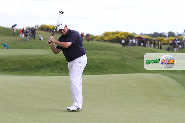 Shane Lowry (IRL) on the 14th on Day 3 of the Alstom Open de France at Golf National,  Saint-Quentin-En-Yvelines, Paris, France, 7/7/12...(Photo Jenny Matthews/www.golffile.ie)