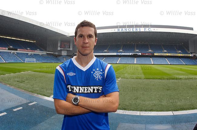 Australian midfielder Matt McKay at Rangers and looking ahead to the SPL campaign