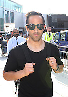CLAUDIO BRAVO ARRIVES IN TO MANCHESTER AIRPORT PRIOR TO HIS MEDICAL WITH MANCHESTER CITY<br /> <br /> Mandatory Credit - Alex Roebuck / www.alexroebuck.co.uk