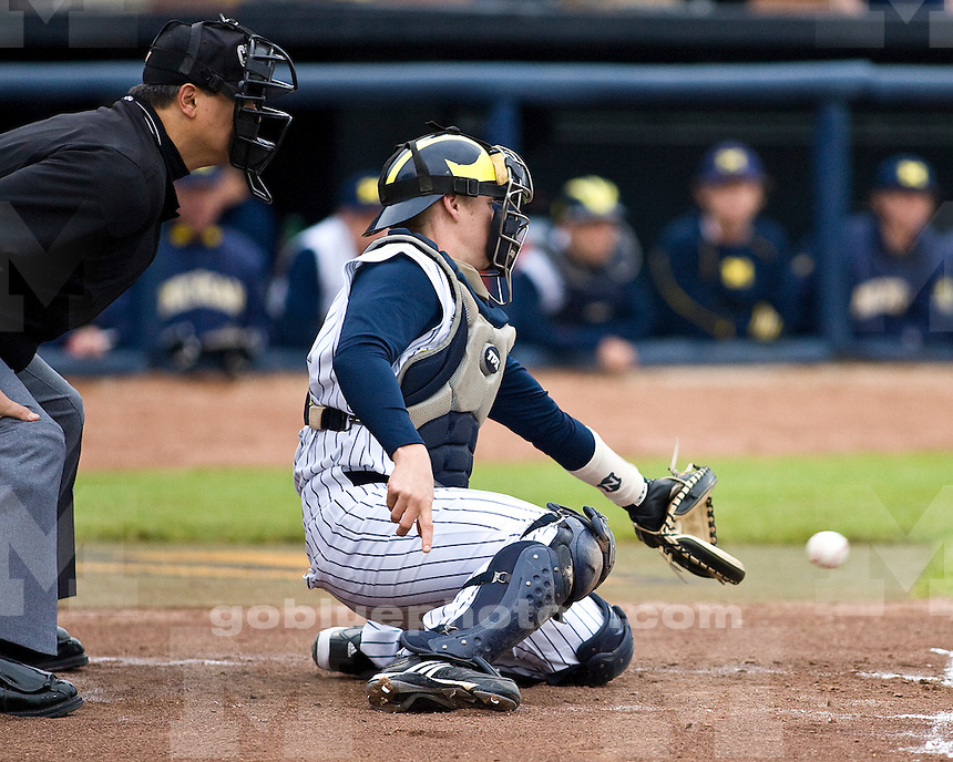 University of Michigan Baseball 13-10 loss to Michigan State University at the Wilpon Baseball Complex on 5/12/2010.