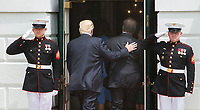 U.S. President Donald J. Trump welcomes President Juan Carlos Varela of Panama to The White House in Washington, DC, June 19, 2017. Credit: Chris Kleponis / CNP<br /> Credit: Chris Kleponis / CNP /MediaPunch