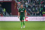 15.04.2018, Weser Stadion, Bremen, GER, 1.FBL, Werder Bremen vs RB Leibzig, im Bild<br /> <br /> <br /> Zlatko Junuzovic (Werder Bremen #16)<br /> Foto &copy; nordphoto / Kokenge