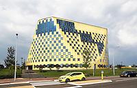 Nederland Hardenebrg 2015 08 15. Het Gemeentehuis. Het gebouw is ontworpen door De Architekten Cie
