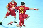 13.01.2018., Croatia, Arena Zagreb, Zagreb - European Handball Championship, Group C, Round 1, Germany - Montenegro. LIPOVINA Vladan <br /> <br /> Foto &copy; nordphoto / Sanjin Strukic/PIXSELL
