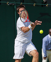 29-06-13, England, London,  AELTC, Wimbledon, Tennis, Wimbledon 2013, Day six, Igor Sijsling (NED)<br /> <br /> <br /> <br /> Photo: Henk Koster
