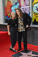 LOS ANGELES, CA. August 27, 2018: Weird Al Yankovic & Suzanne Krajewski Yankovic at the Hollywood Walk of Fame Star Ceremony honoring 'Weird Al' Yankovic.