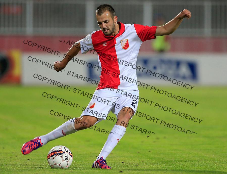 Fudbal UEFA Europa League 2015-2016<br /> Second qualifying round, First leg<br /> Vojvodina v Spartaks Jurmala<br /> Jovica Vasilic<br /> Novi Sad, 16.07.2015.<br /> foto: Srdjan Stevanovic/Starsportphoto &copy;