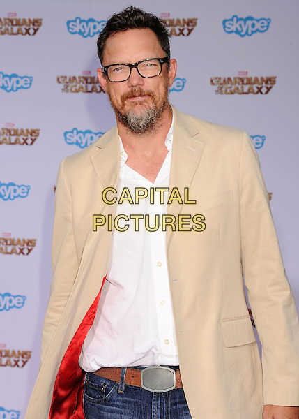 HOLLYWOOD, CA- JULY 21: Actor Matthew Lillard arrives at the Los Angeles premiere of Marvel's 'Guardians Of The Galaxy' at the El Capitan Theatre on July 21, 2014 in Hollywood, California.<br /> CAP/ROT/TM<br /> &copy;Tony Michaels/Roth Stock/Capital Pictures