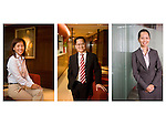 Corporate portraits for Ernst & Young