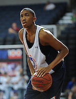 Michael Cobbins handles the ball during the 2009 NBPA Top 100 Basketball Camp held Friday June 17- 20, 2009 in Charlottesville, VA. Photo/ Andrew Shurtleff.